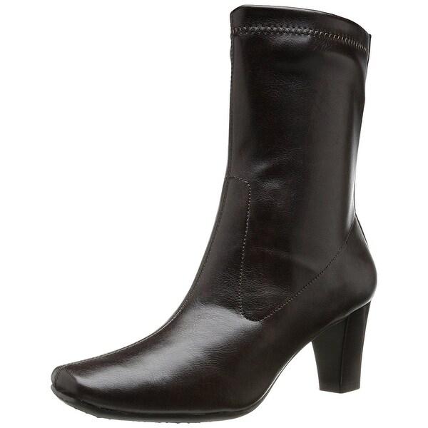 Aerosoles Womens Geneva Square Toe Ankle Fashion Boots