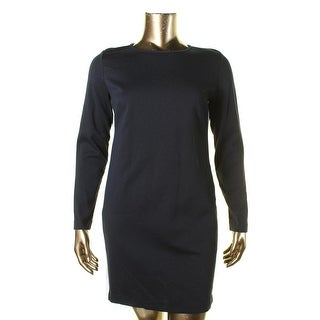 MICHAEL Michael Kors Womens Colorblock Ponte Wear to Work Dress - XL