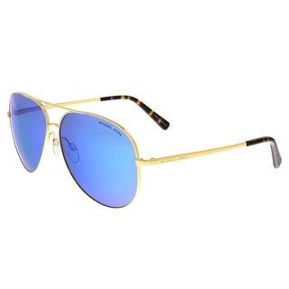 Michael Kors MK5016 102425 KENDALL Gold Aviator Sunglasses - 60-12-135