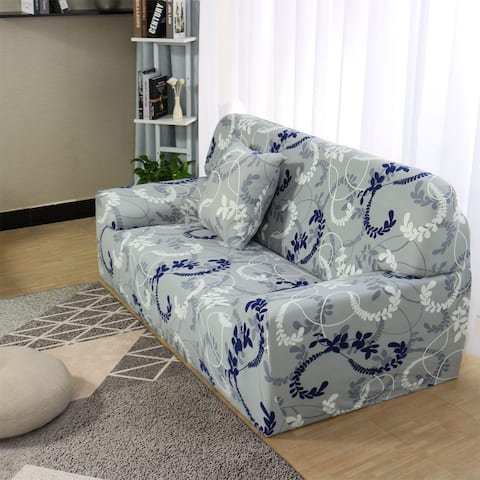 Elastic Furniture Protector Slipcover with One Free Cushion Case