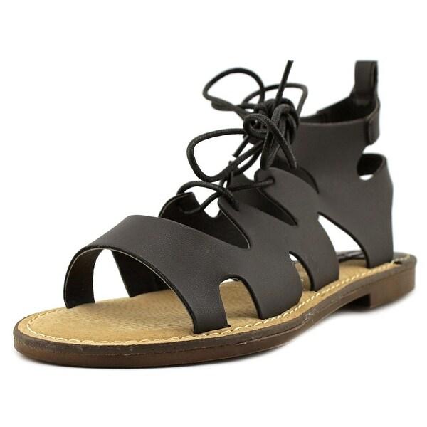 MTNG 53674 Women Brush Black Sandals