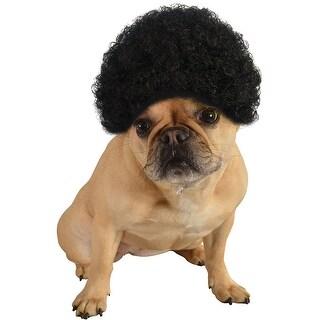 Rubies Black Afro Pet Costume
