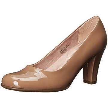 Aerosoles Womens Major Role Leather Round Toe Classic Pumps
