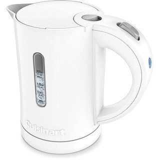 Cuisinart CK-5W 0.5 Liter/17oz Electric QuicKettle, White