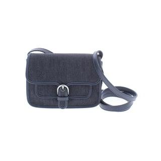 90574df0f119a5 MICHAEL Michael Kors Womens Cooper Crossbody Handbag Denim Everyday - small