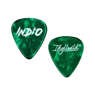 Monoprice Heavy Guitar Picks - 0.88mm - 12 pack - Green - Stage Right Series