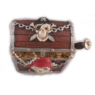 Sea Creations Pirate Chest Coin Box
