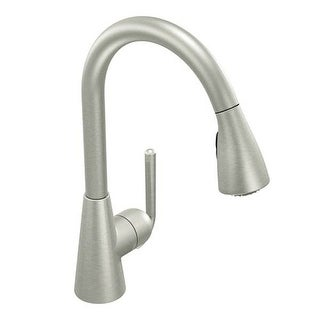 Beau Moen S71708CSL Ascent 1 Handle Pulldown Kitchen Faucet, Classic Stainless    Classic Stainless