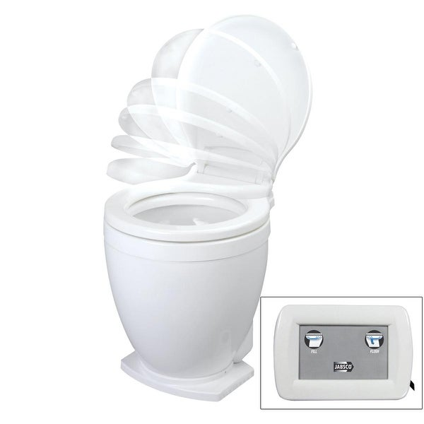Jabsco Lite Flush 24V Electric Toilet With Control Panel - 58500-1024