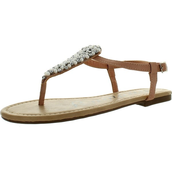 Rampage Womens Pindle Sandals - Blush