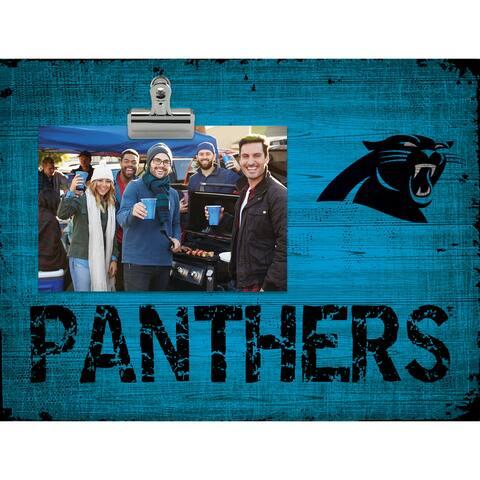 Carolina Panthers Clip Frame