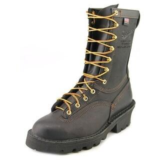 """Danner Flashpoint II 10"""" Men Steel Toe Leather Black Combat Boot"""