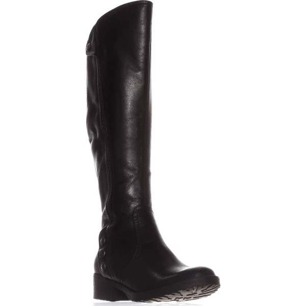BareTraps Oria Flat Knee-High Boots, Black