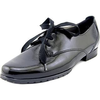 Ara Katherine Women Round Toe Patent Leather Black Oxford