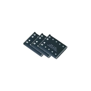 Battery for Olympus Li40B (3-Pack) Camera Batteries