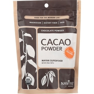 Navitas Naturals Cacao Powder, 8 Oz (Pack Of 12)