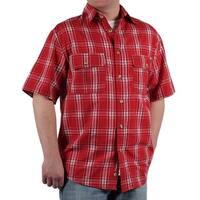 Case IH Men's Short Sleeve Plaid Shirt