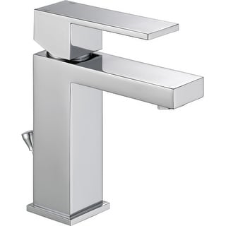 Delta 567LF-GPM-PP Modern 1 GPM Single Hole Bathroom Faucet with
