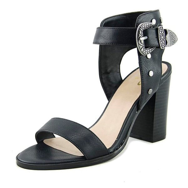 Mix No 6 Kells Women Open-Toe Synthetic Black Heels
