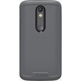 Incipio Performance Level 5 Holster Case for Motorola Droid Turbo 2 - Grey/Yello