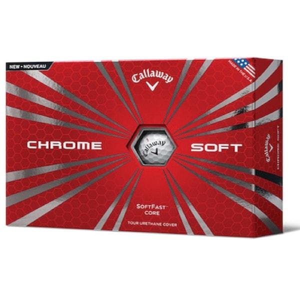 Callaway Chrome Soft Golf Balls - 642125312