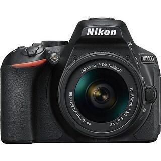 Nikon D5600 24.2 Megapixel Digital SLR Camera with Lens - 18 mm - (Refurbished)