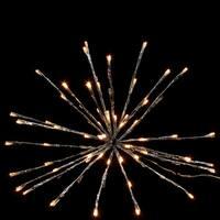 Lumineo LED Polestar Lights, Warm White Lights, Flashing LEDs
