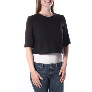 FRENCH CONNECTION $98 Womens New 7980 Black Bolero Casual Jacket 12 B+B