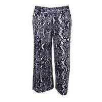 INC International Concepts Women's Regular Fit Pants 2, Multi - 2