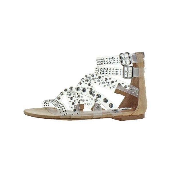 5795bd3e897 Shop Steve Madden Womens Shift Flat Sandals Rhinestone - Free ...