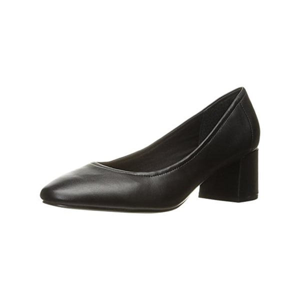Steve Madden Womens Tomorrow Pumps Leather Round Toe