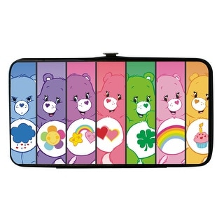 Buckle Down Women's Care Bear Hinged Card Case Wallet - care bears - One Size