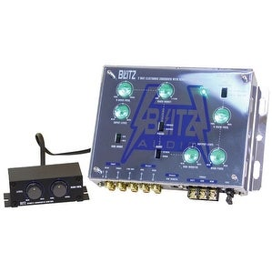 2-Way Electronic Crossover Network with Subwoofer Level Control