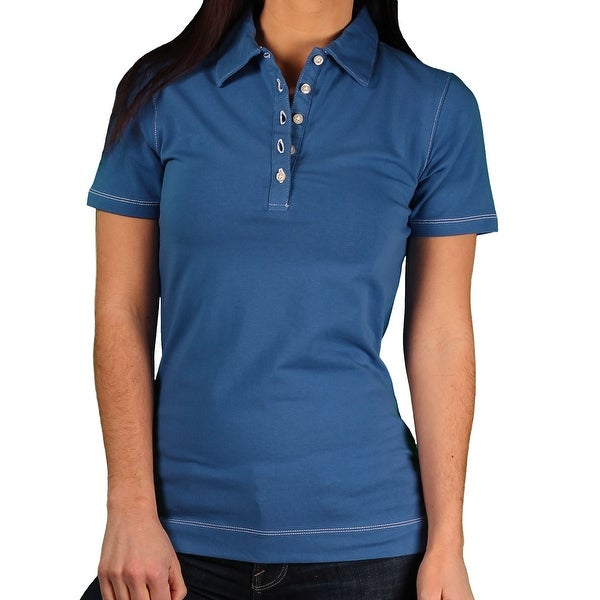Jockey Misses Pima Stretch Jersey Polo Shirt