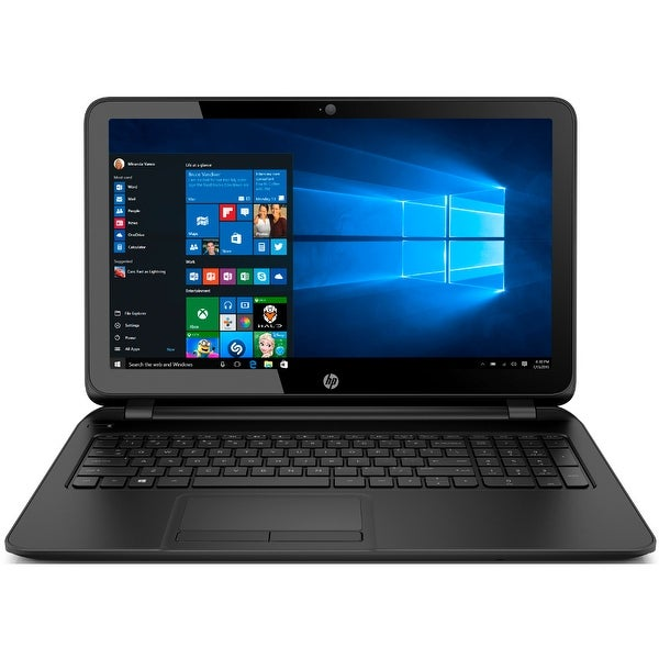 "Manufacturer Refurbished - HP 15-ay082nr 15.6"" Laptop Intel Celeron N3060 1.6GHz 4GB DDR3 1TB Windows 10"