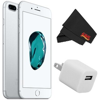 Apple iPhone 7 256GB - Silver (Unlocked) with Accessory Kit