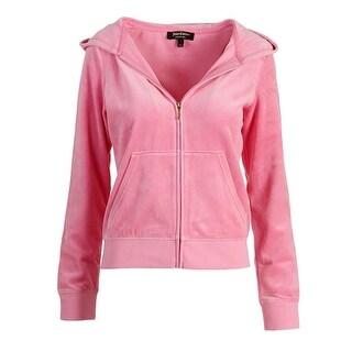 Juicy Couture Black Label Womens Velour Crystals Original Jacket
