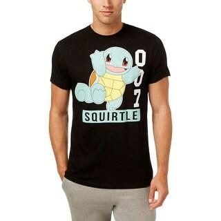 Pokemon Mens T-Shirt Cotton Short Sleeves - L