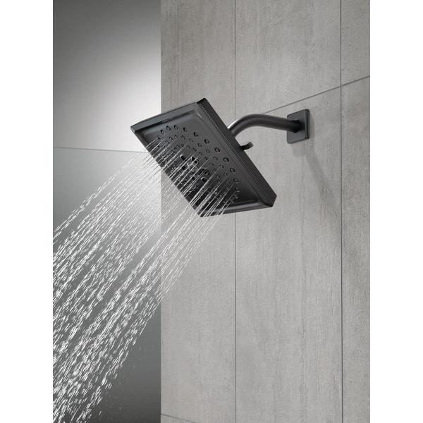 Delta 52684 1 75 Gpm Universal 7 5 8 Wide Multi Function Shower Head Overstock 16321807