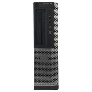 Dell OptiPlex 390 Desktop Computer Intel Core I5 2400 3.1G 16GB DDR3 1TB Windows 10 Pro 1 Year Warranty (Refurbished) - Black