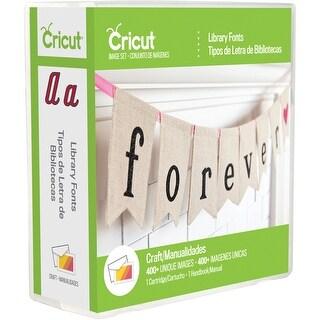Cricut Font Cartridge-Library