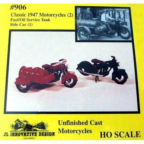 1947 Motorcycles & Motorcycles with Fuel Tank Car