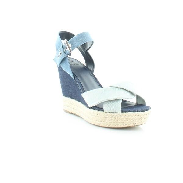 Guess Sanda Women's Sandals & Flip Flops Blue Multi - 9.5