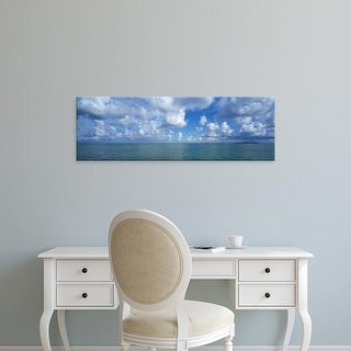Easy Art Prints Panoramic Images's 'Cloud over the ocean, Florida Keys, Monroe County, Florida, USA' Canvas Art