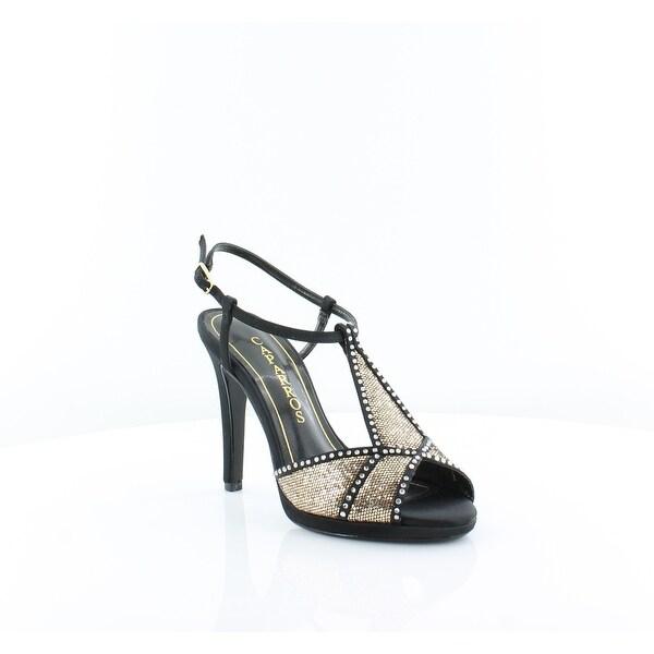 Caparros Ecstacy Women's Heels Black Gold - 5
