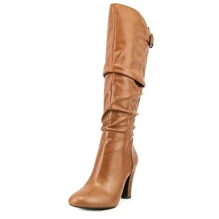 Jessica Simpson Finnegan Round Toe Synthetic Knee High Boot