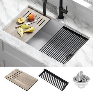 Link to KRAUS Bellucci Workstation Undermount Granite Composite Kitchen Sink Similar Items in Sinks