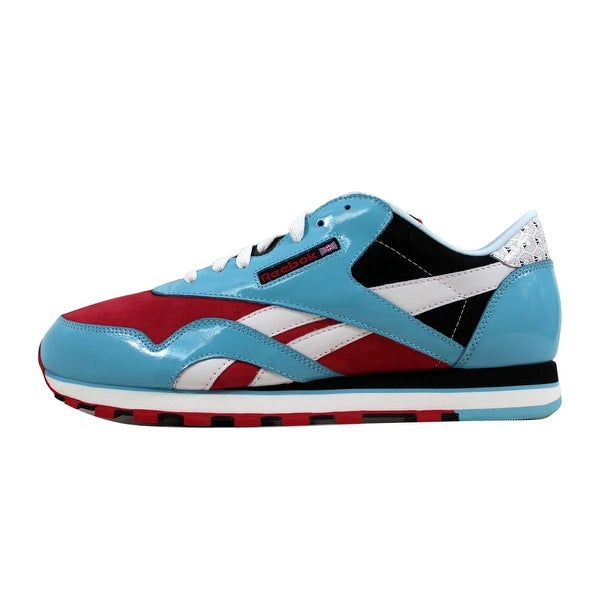 Reebok Mens Cl Nylon Red Running Shoes Size 11.5