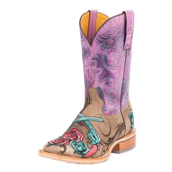 Tin Haul Western Boots Womens Sure Shot Tan