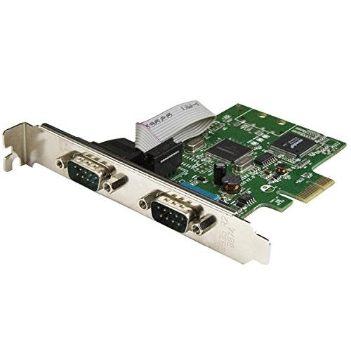 Startech Pex2s1050 2-Port Pci Express Serial Card With 16C1050 Uart, Rs232